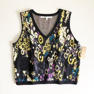 RACHEL Rachel Roy Sweater Knit Crop Top Sz 1X